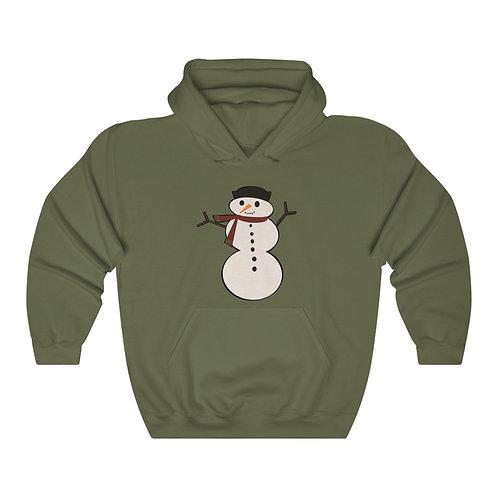 Snowman Unisex Heavy Blend™ Hooded Sweatshirt