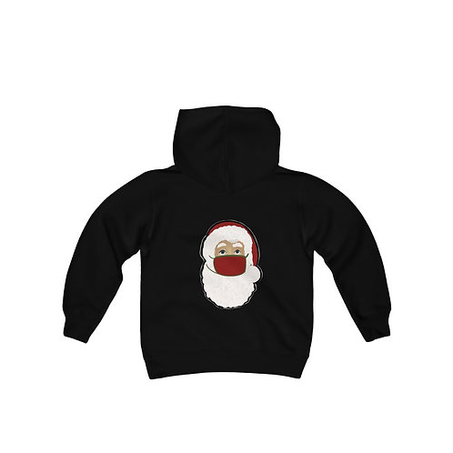 Santa Youth Heavy Blend Hooded Sweatshirt