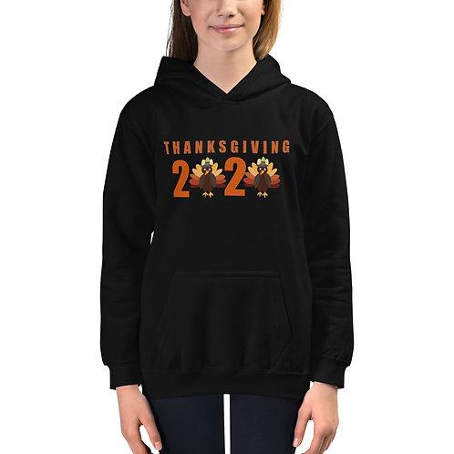 Kids Hoodie Thanksgiving 2020