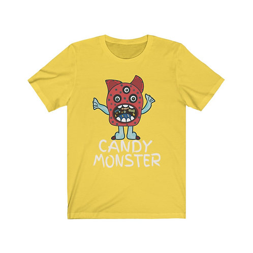 Adult Candy Monster - Unisex Jersey Short Sleeve Tee