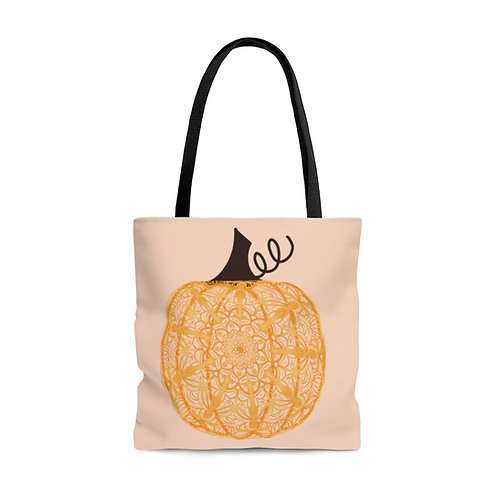 Zen Pumpkin Tote Bag