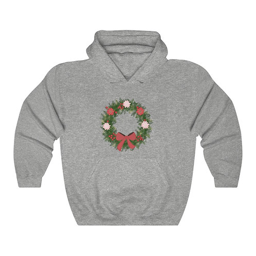 Wreath Unisex Heavy Blend™ Hooded Sweatshirt