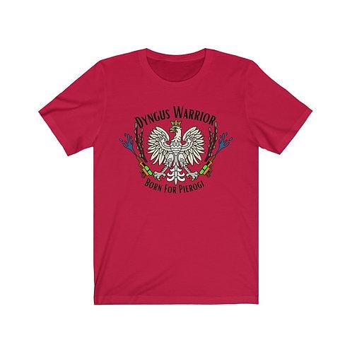 Dyngus Warrior Unisex Jersey Short Sleeve Tee - full color