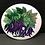 "Thumbnail: 2.25"" Purple bean magnet"