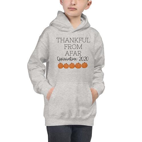 Kids Hoodie Thankful from afar