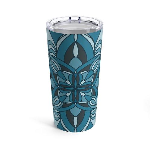 Turquoise Design Tumbler 20oz