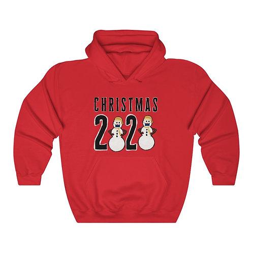 Christmas 2020 SnowmanUnisex Heavy Blend™ Hooded Sweatshirt