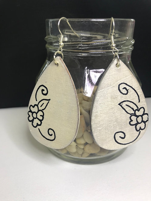 Assorted Hand-painted Earrings