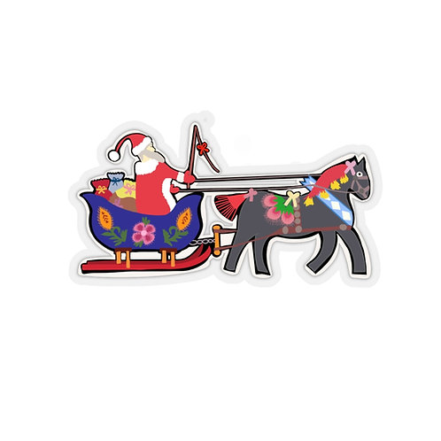 Polish Santa Sticker