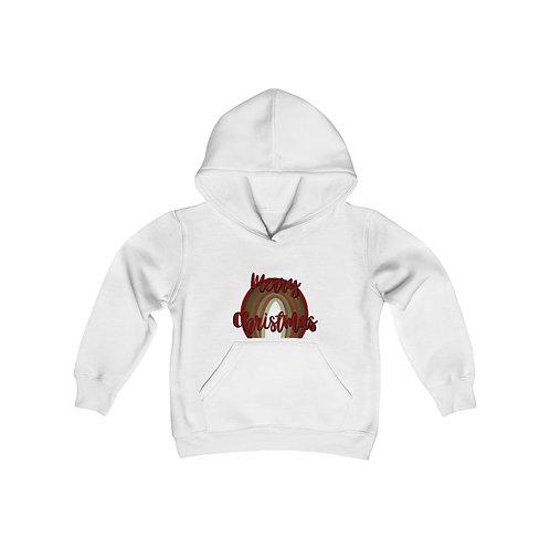 Merry Christmas Youth Heavy Blend Hooded Sweatshirt