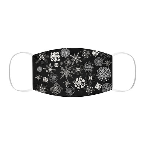 Snowflake Snug-Fit Polyester Face Mask