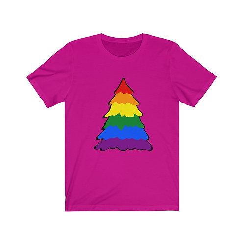 Rainbow Unisex Jersey Short Sleeve Tee