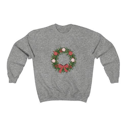 Wreath Unisex Heavy Blend™ Crewneck Sweatshirt