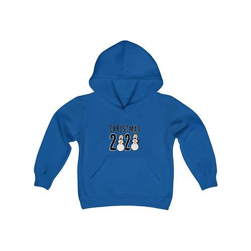 Christmas 2020 Youth Heavy Blend Hooded Sweatshirt