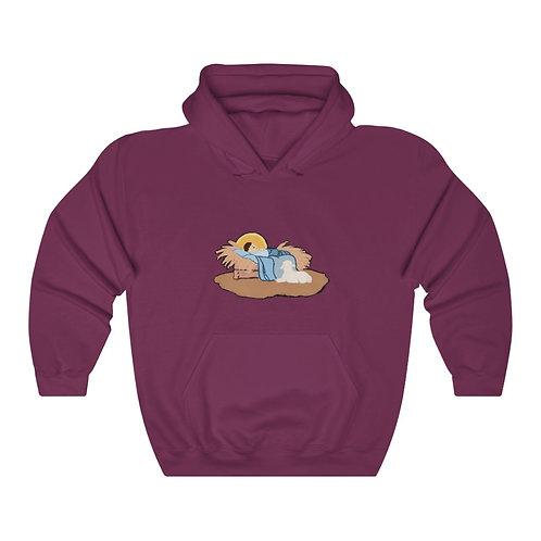 Baby Jesus Unisex Heavy Blend™ Hooded Sweatshirt