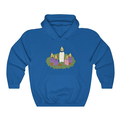 Advent Wreath Unisex Heavy Blend™ Hooded Sweatshirt