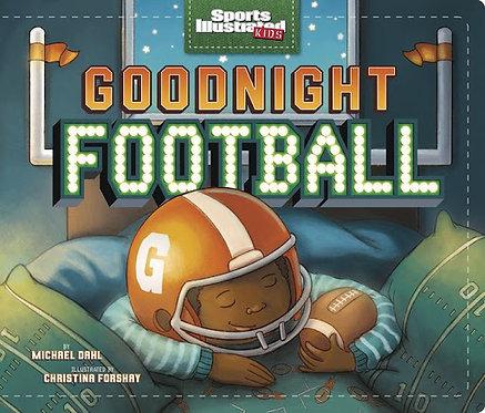 Goodnight football by Michael Dahl