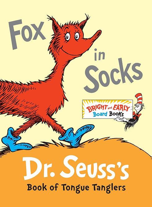 Fox in socks Dr Seuss