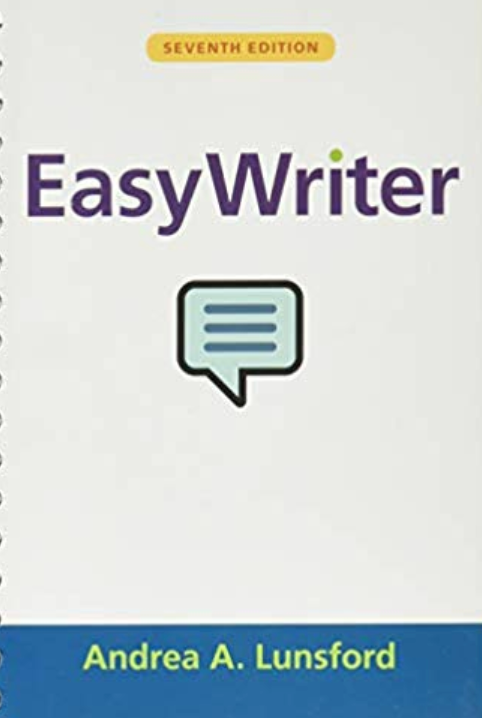 Easy Written by Andrea A. Lunsford