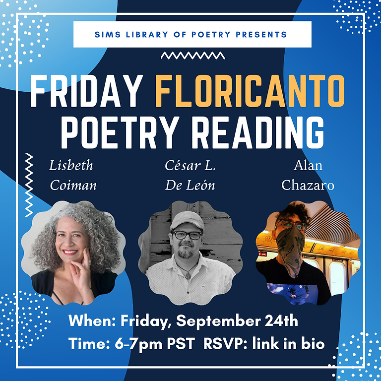 Friday Floricanto Poetry Reading