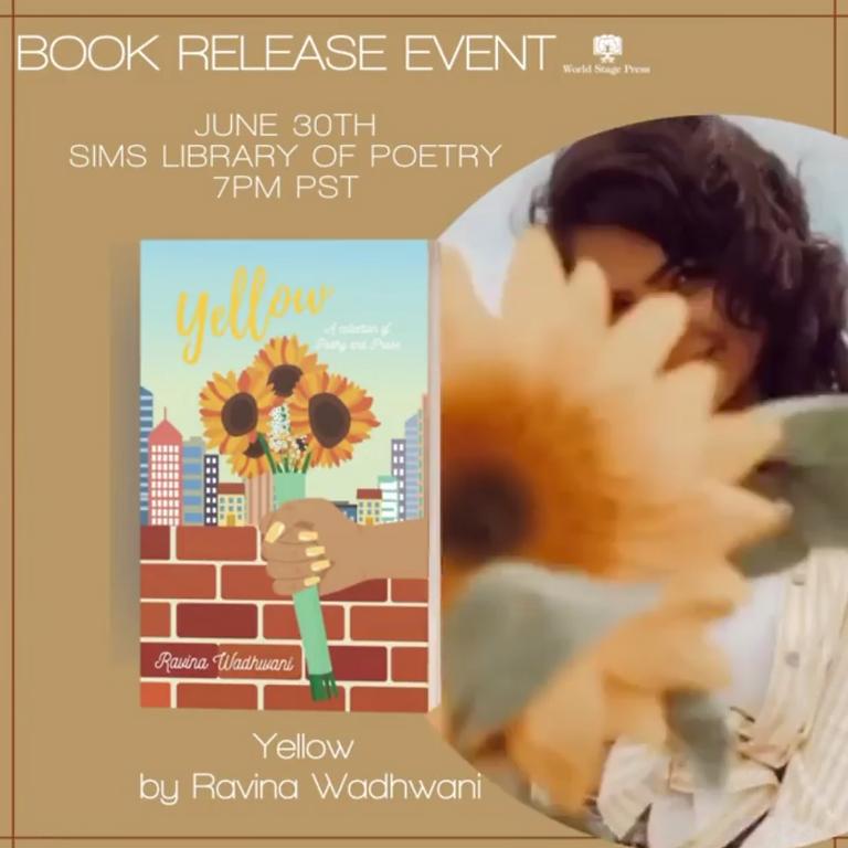 "Ravina's Book Release: ""Yellow"""