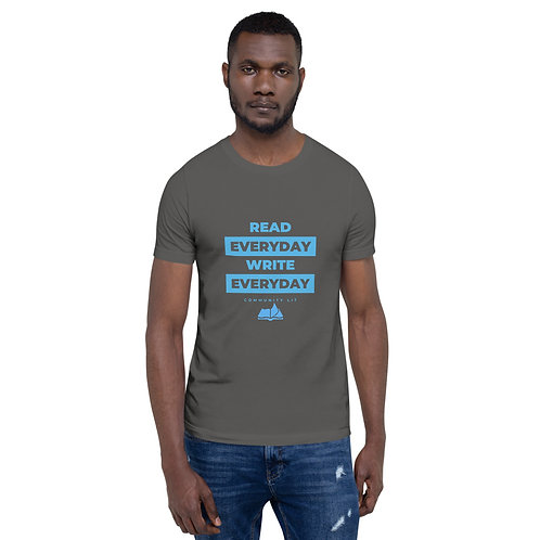Read Everyday Write Everyday Unisex Short-Sleeve Unisex T-Shirt