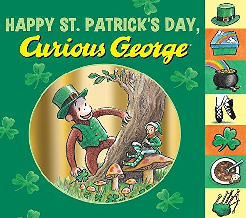 Happy St. Patrick's Day Curious George
