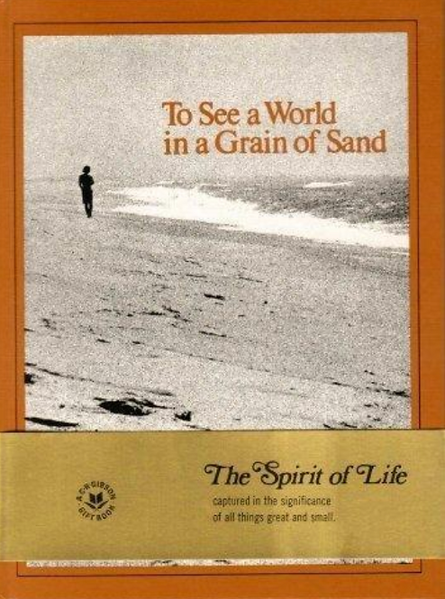 To See The World With A Grain of Sand by the spirit of life.