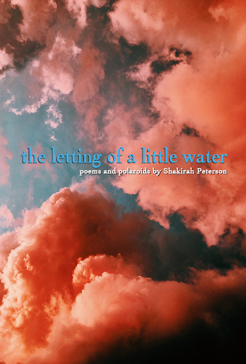 THE LETTING OF A LITTLE WATER BY SHAKIRAH PETERSON