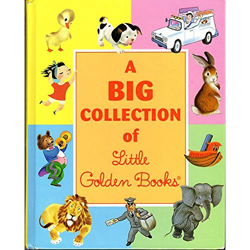 Big collection of little golden books