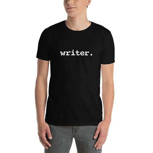 """writer."" Short-Sleeve Unisex T-Shirt"