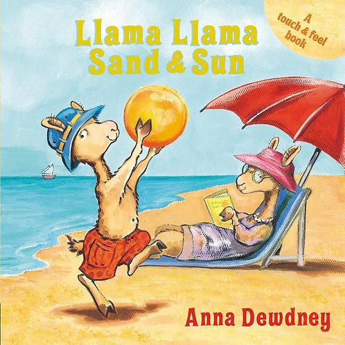 Llama llama sand & sun by Anna Dewdney