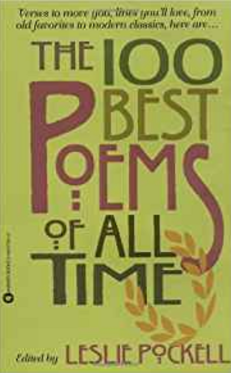 The 100 best poets of all time by Lesli Pockel