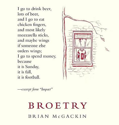 Broetry by Brian Mcgackin