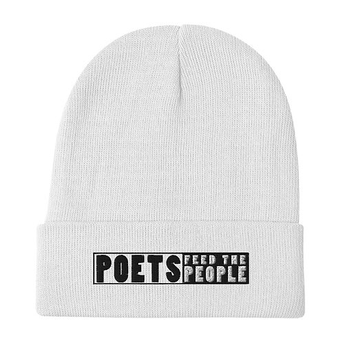 Poets Feed the People Beanie