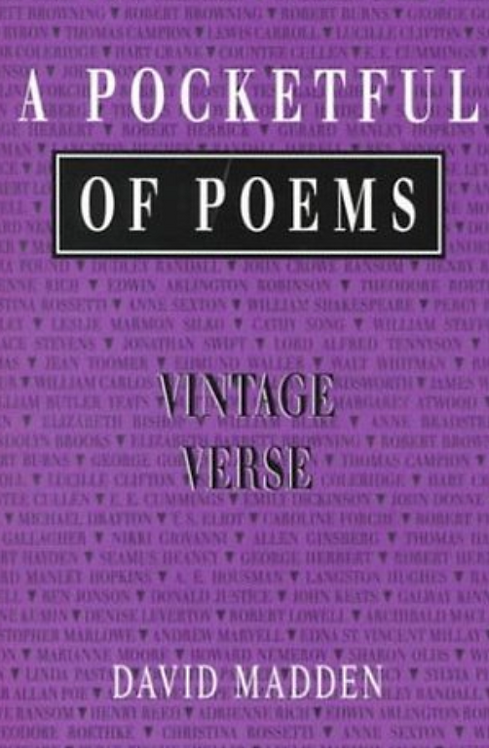 A Pocketful of Poems by Vintage Verse