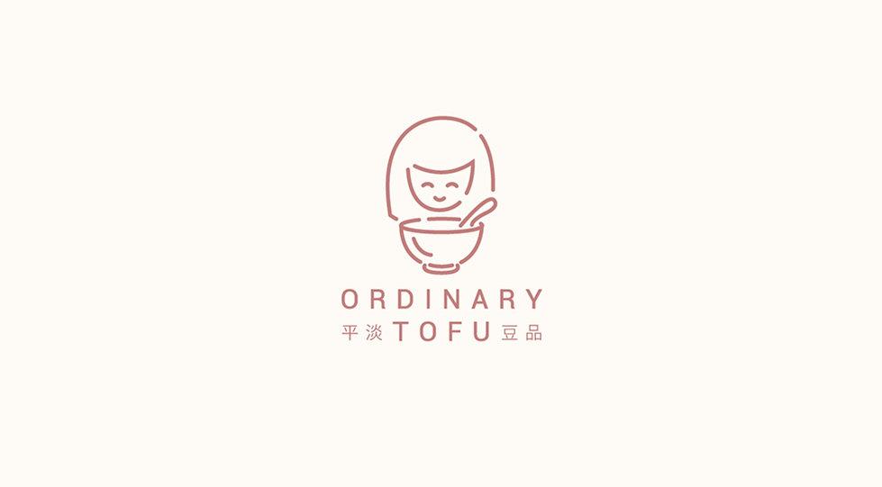 Playful Logo Design For Ordinary Tofu