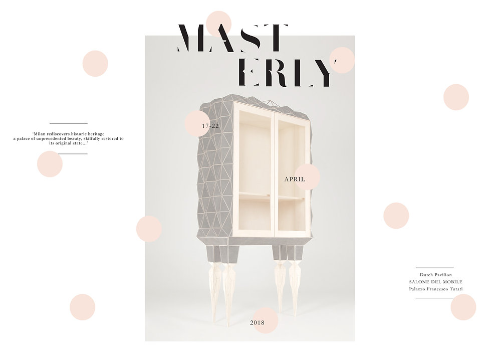 Graphic Design & Print Design For Masterly