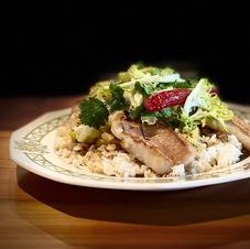 Caramelized Fish & Crispy rice