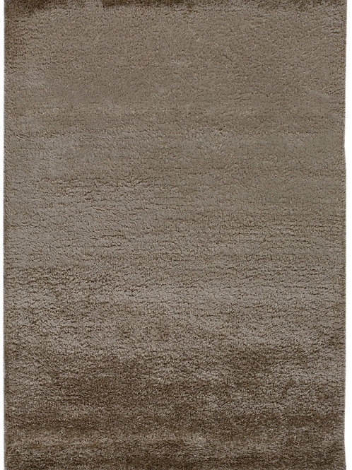 Brown carpet in wool and viscose - Vesuvio 5520-666 - Face product