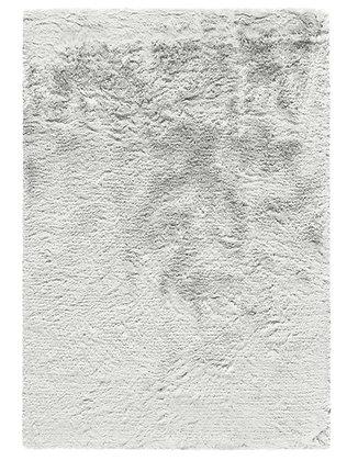 tapis blanc brillant - Berka 5512-054 - Face produit