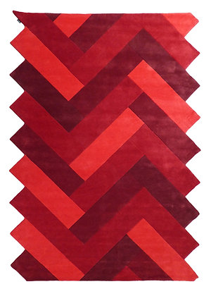red design carpet in wool -Panama Charlotte Lancelot 552-10 -face product