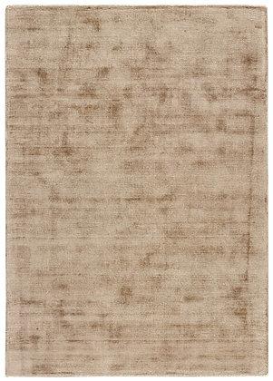 tapis soyeux beige -Erica 2174-666A320 - face produit