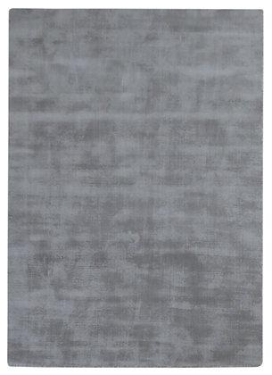 tapis gris unis en laine - Clip 221-56 - face produit