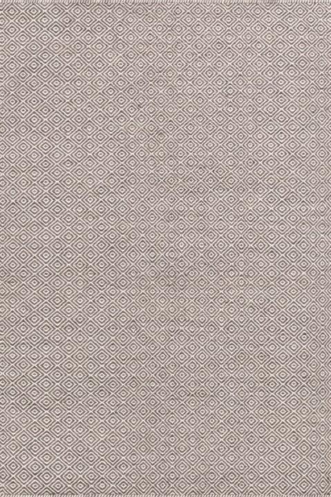 tapis marron violet en laine - Milhac 3030-59- face produit