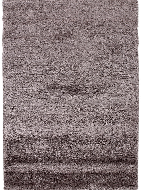 Tapis violet soyeux en laine et viscose - Vesuvio 5520-55- Face produit