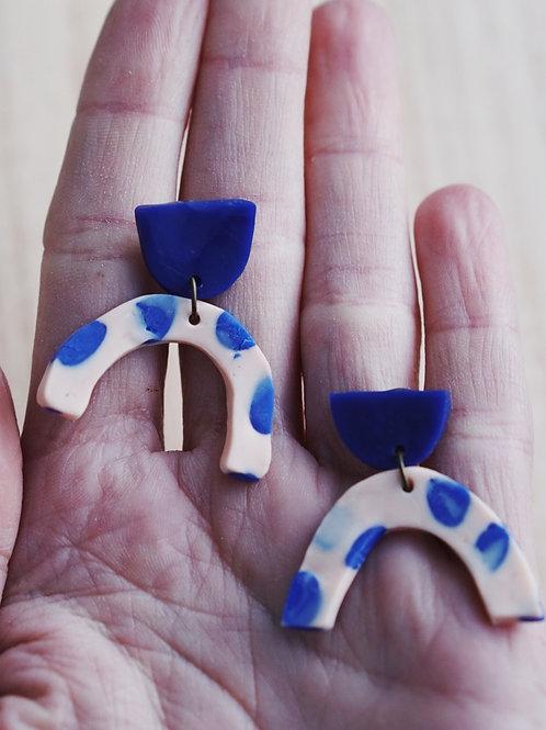- BELLA - polymer clay earrings
