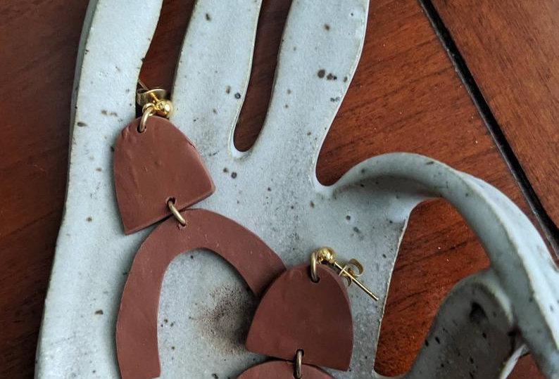ALICE - Polymer Clay Earrings