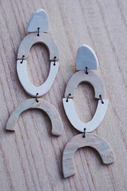- EDEN - polymer clay earrings