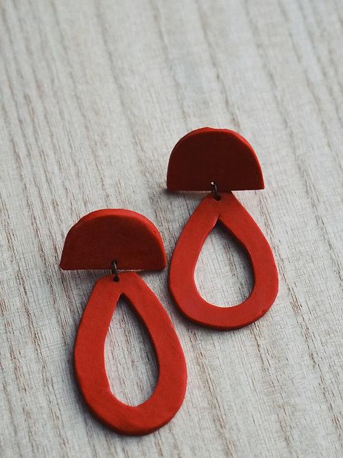 - GRACE - polymer clay earrings
